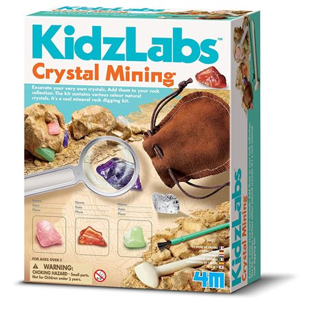 KIDZLABS MINE DE CRISTAUX