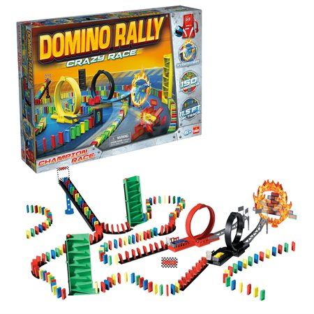 DOMINOS EXPRESS COURSE FOLLE 150 PCS