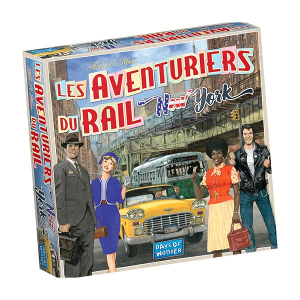 AVENTURIERS DU RAIL EXPRESS NEW-YORK 1960